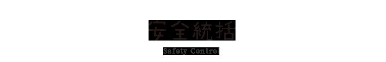 安全統括 Safety_control